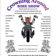 crowning around bike show