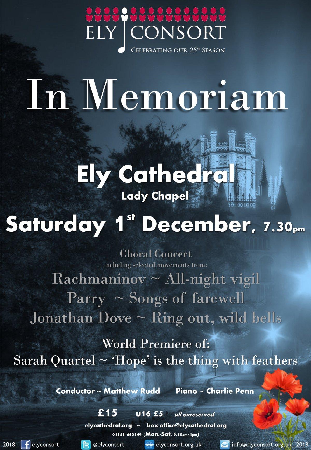 Ely Consort In Memoriam