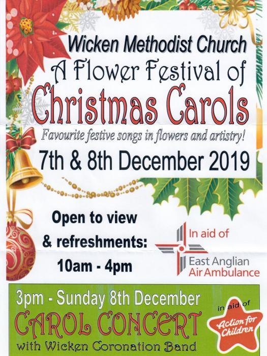 A Flower Festival of Christmas Carols