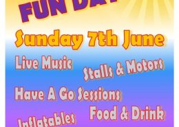 family fun day ely rugby club poster