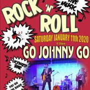 Go Johnny Go - Haddenham Social Club poster