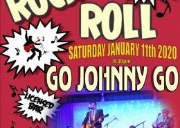 Go Johnny Go - Haddenham Social Club poster