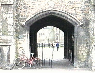 Ely Sacrists Gate