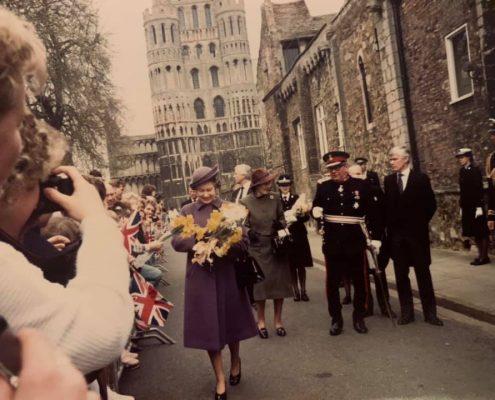 The Queen in Ely 1987