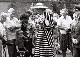 Diana Visits Ely 1987