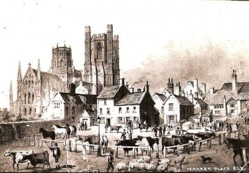 Ely Market Place 1845