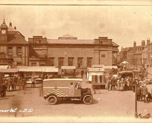 Ely Market Place 1910