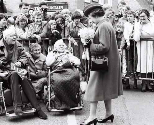 The Queen in Ely