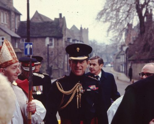 Prince Philip in Ely