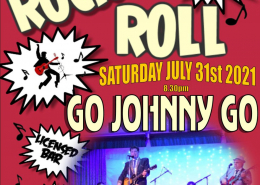 Go Johnny Go - Sat. July 31st - Haddenham Sports & Social Club
