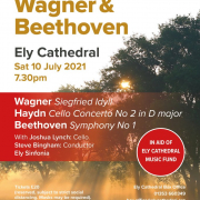 1 of 4 A celebration of classical music in Ely Cathedral: Saturday July 10th, 7.30pm