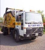 ely skip hire vehicle