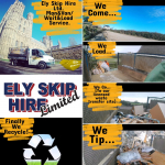 ely skip hire montage